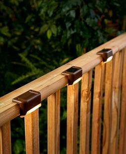 Solar Deck Lights,  3 Pack Create lighting around your home
