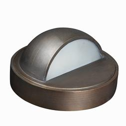 LED Low Voltage Outdoor  Solid Brass Deck Light-Architectura