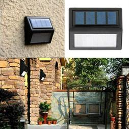 LED Solar Powered Deck Lights Path Garden Stairs Step Fence