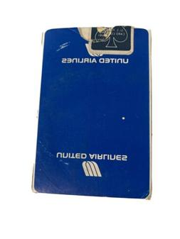 UNITED AIRLINES LIGHT BLUE VINTAGE PLAYING CARDS DECK AIRPLA