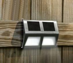 Solar LED Decorative Outdoor Light Lamp for Fence Deck Pathw