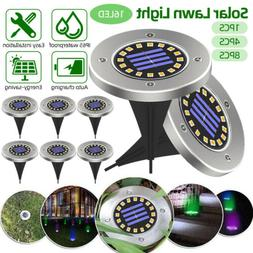 Solar Lights Color-Changing Ground Buried Garden Lawn 12 LED
