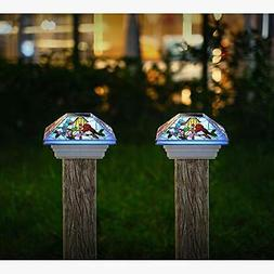 Solar Post Lights Outdoor Light for Fence Deck or Patio Sola